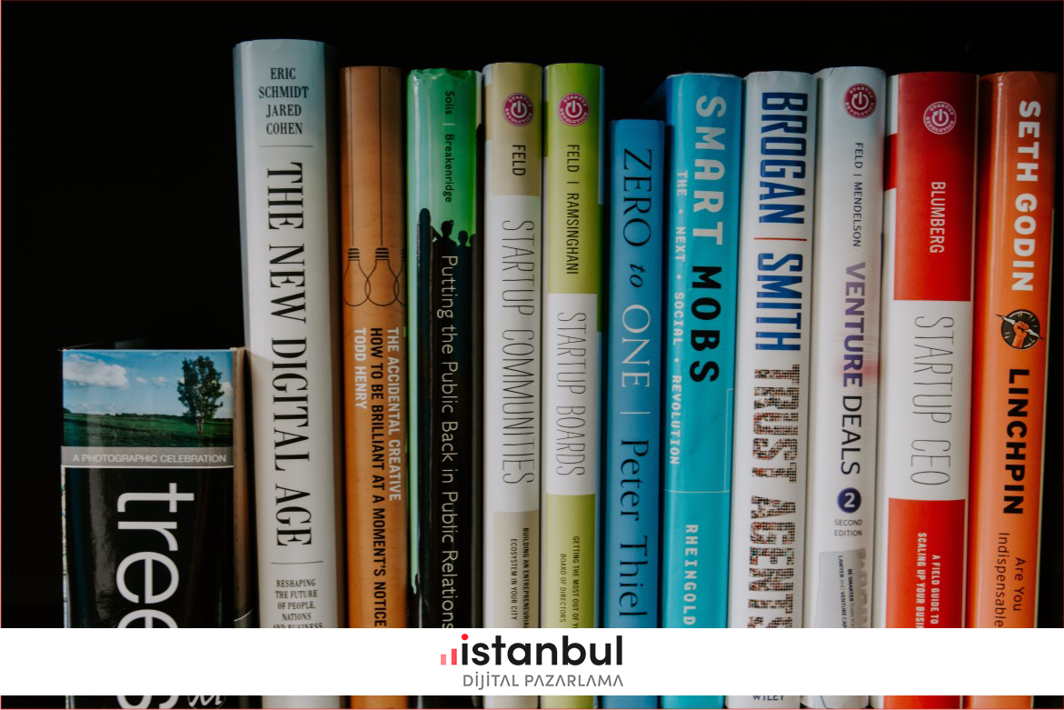 dijital pazarlama kitapları - Dijital Pazarlamacının Okuması Gereken En İyi 20 Dijital Pazarlama Kitabı