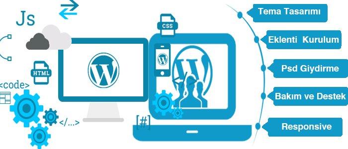 wordpress hizmetleri - WordPress Bakım ve Destek