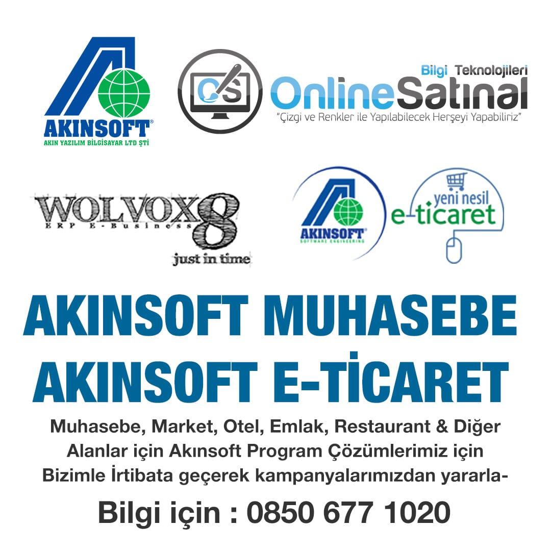 akinsoft cozumleri - Akınsoft E-Ticaret